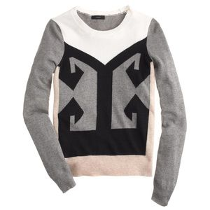 J crew crewneck sweater size S